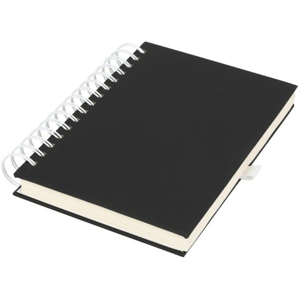 Deník Wiro - Černá / Bílá