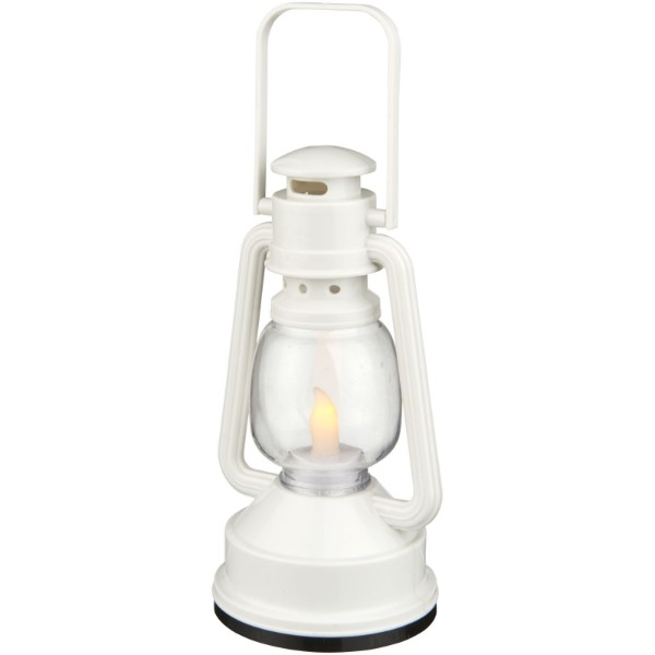 Emerald LED lantern light - White