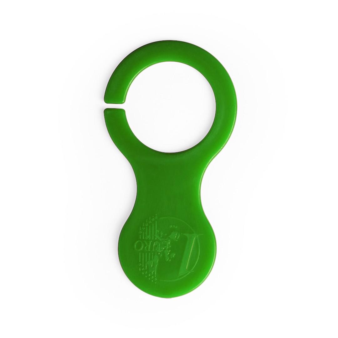 Porta-Chaves Moeda Ibershop - Verde