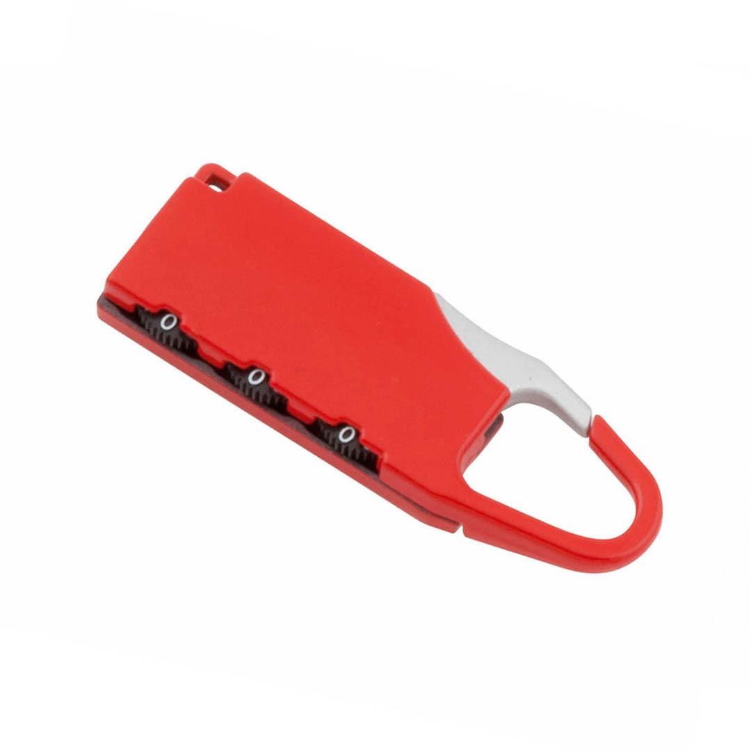 Cadeado Zanex - Vermelho