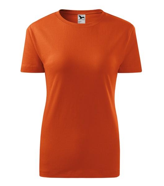Tričko dámské Malfini Classic New - Oranžová / XS