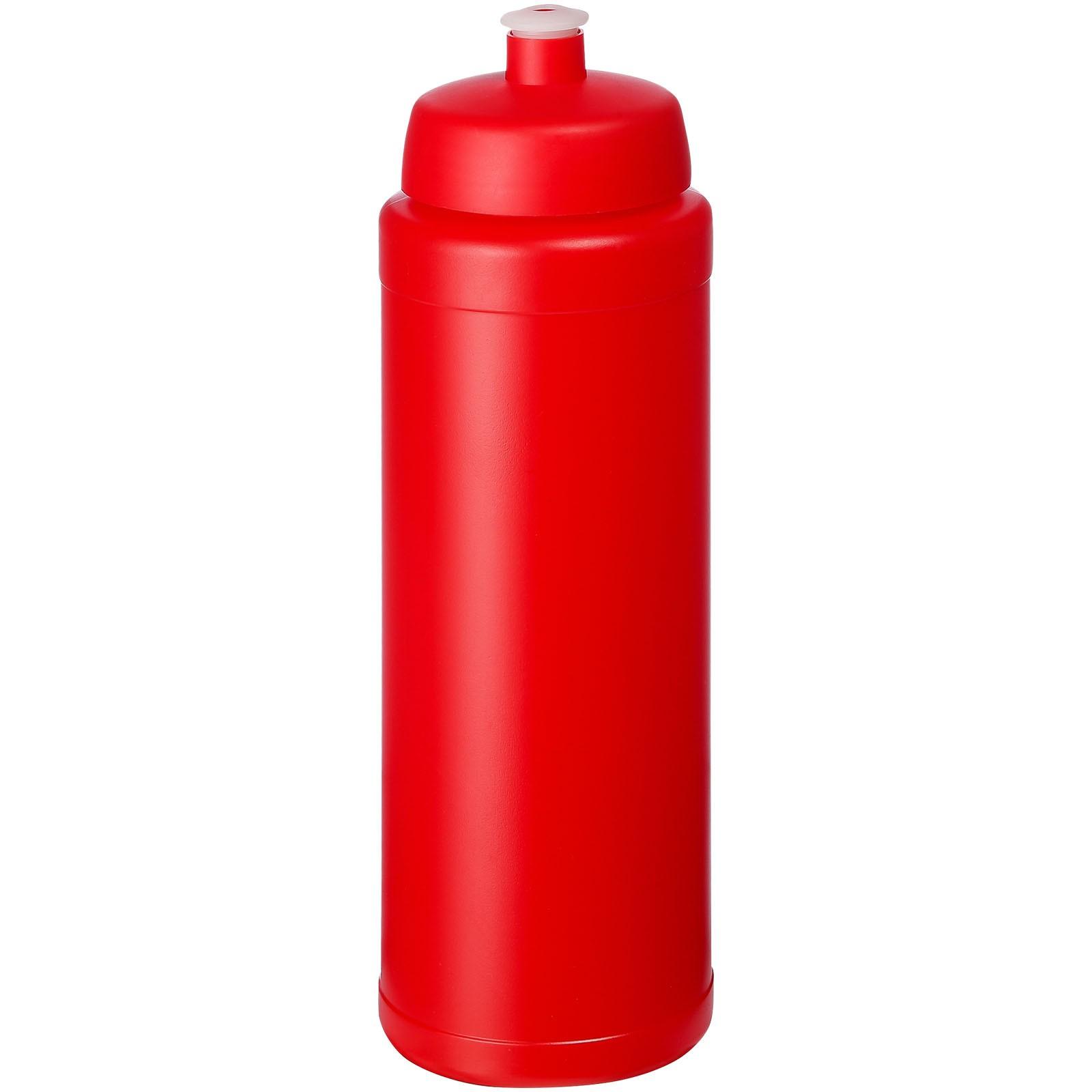 Baseline® Plus grip 750 ml sports lid sport bottle - Red