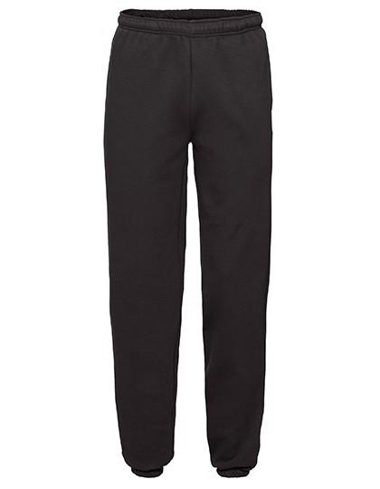 Premium Elasticated Cuff Jog Pants - Black / XXL