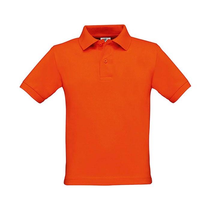 Kids Polo Shirt 180 g/m2 Safran Kids Polo Pk486 - Pumpkin Orange / XL