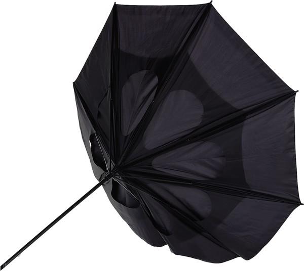 Polyester (210T) storm umbrella - Blue