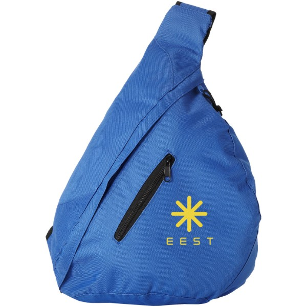 Brooklyn mono-shoulder backpack - Royal blue