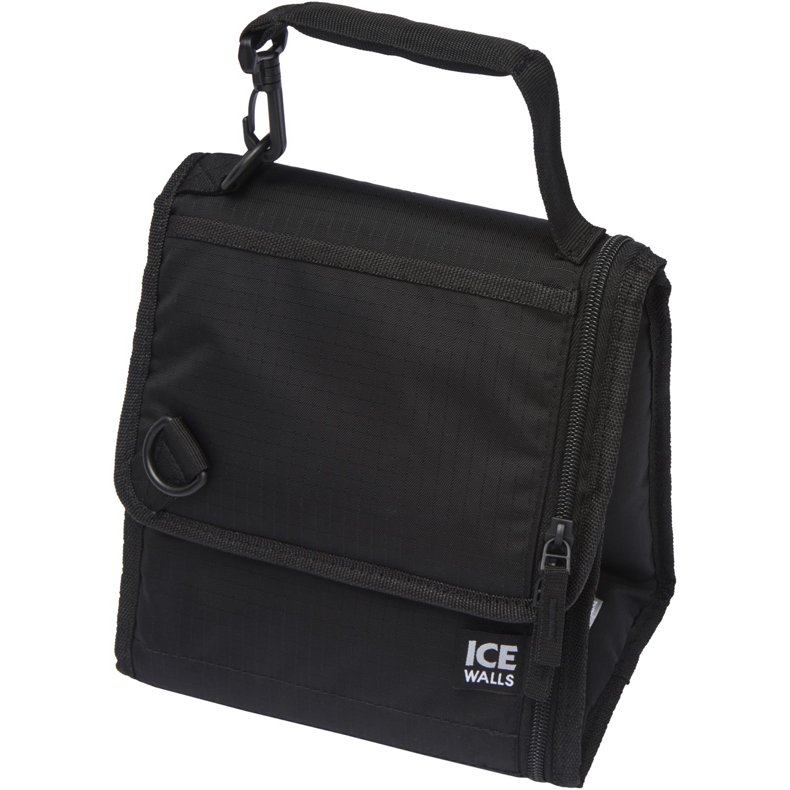 Ice-wall lunch cooler bag