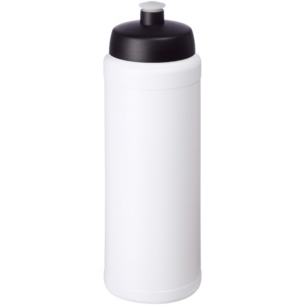 Baseline® Plus grip 750 ml sports lid sport bottle - White / Solid black