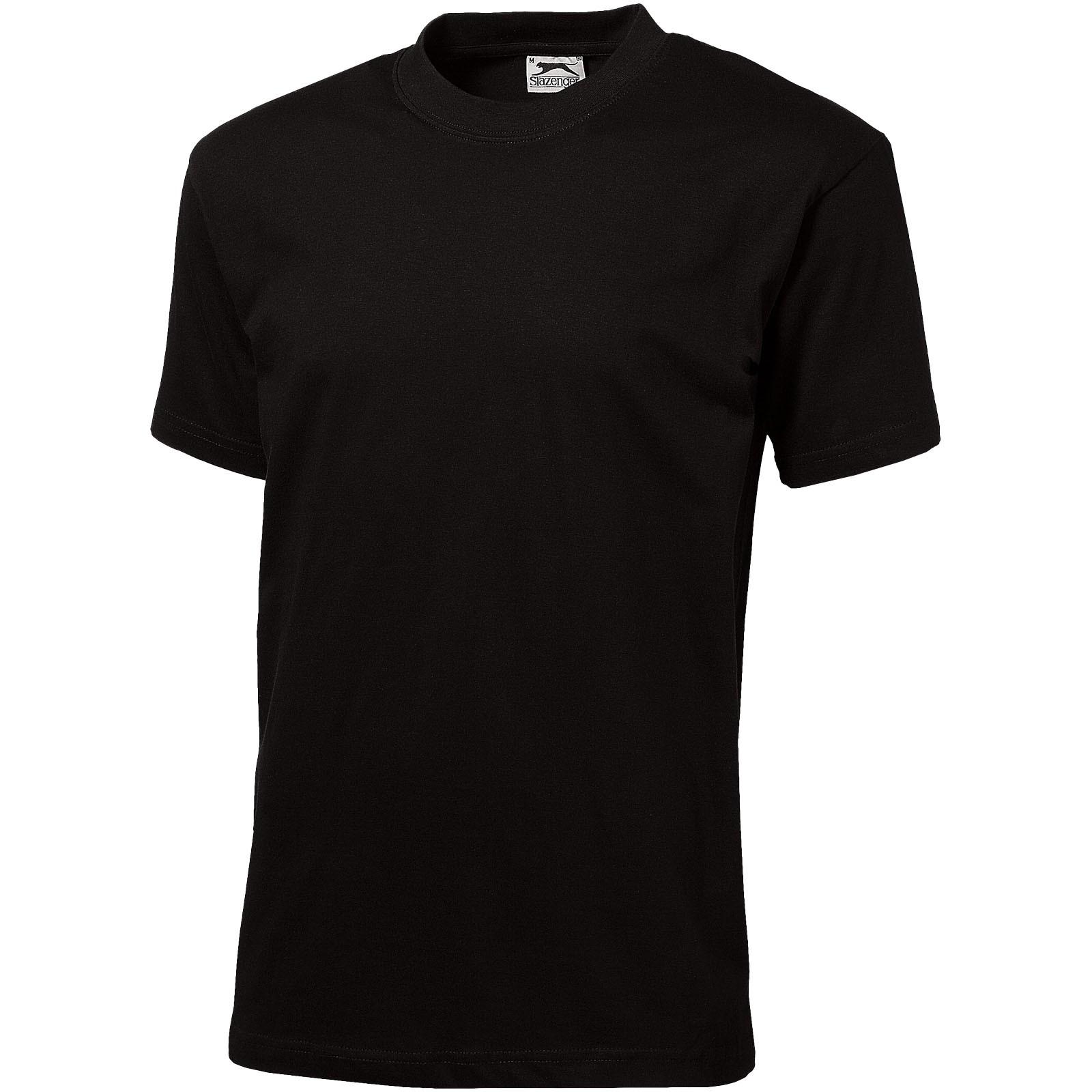 Pánské triko Ace s krátkým rukávem - Černá / XXL