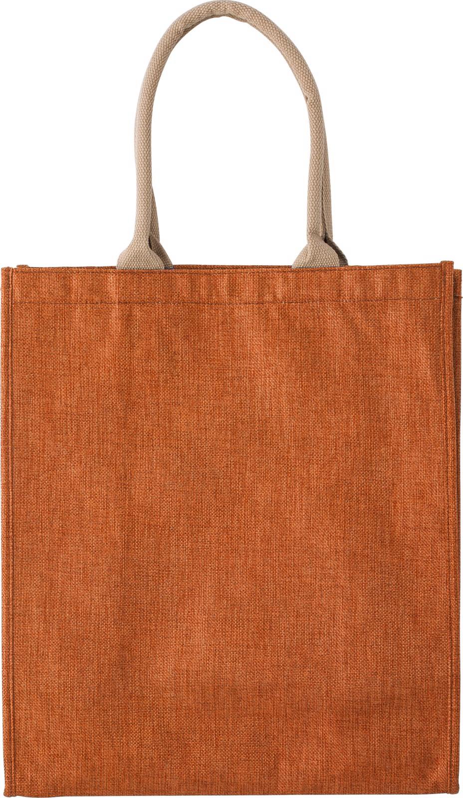 Polyester shopping bag - Orange