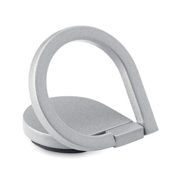 Phone holder-stand ring Drop Ring - Silver