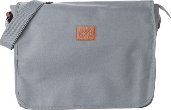 Polyester (600D) shoulder bag - Grey
