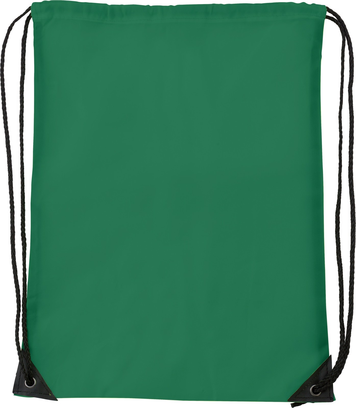 Polyester (210D) drawstring backpack - Green
