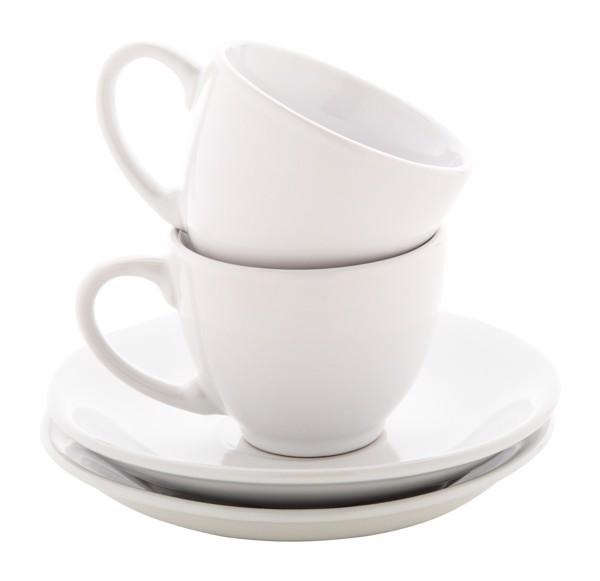 Sada Šálků Na Espresso Mocca - Bílá