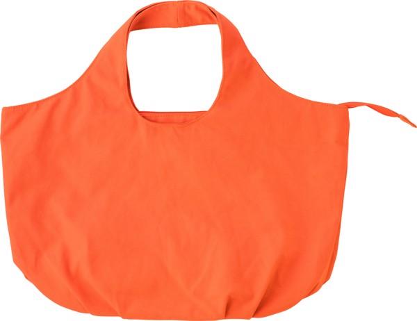Cotton beach bag, - Orange