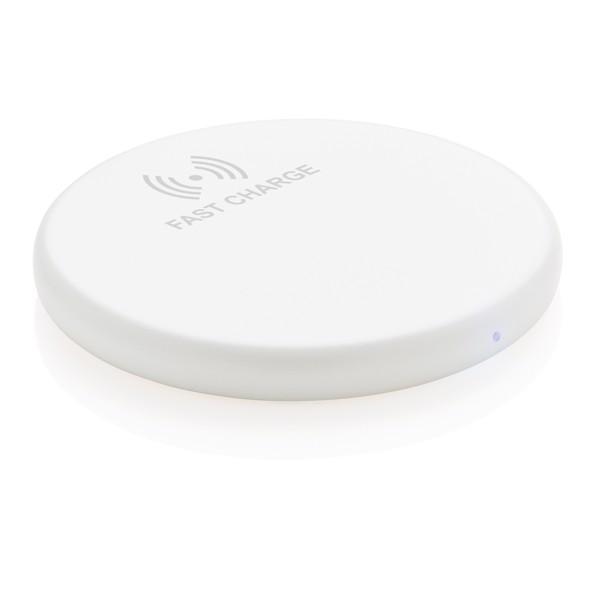 Rychlá bezdrátová nabíječka 10W - Bílá