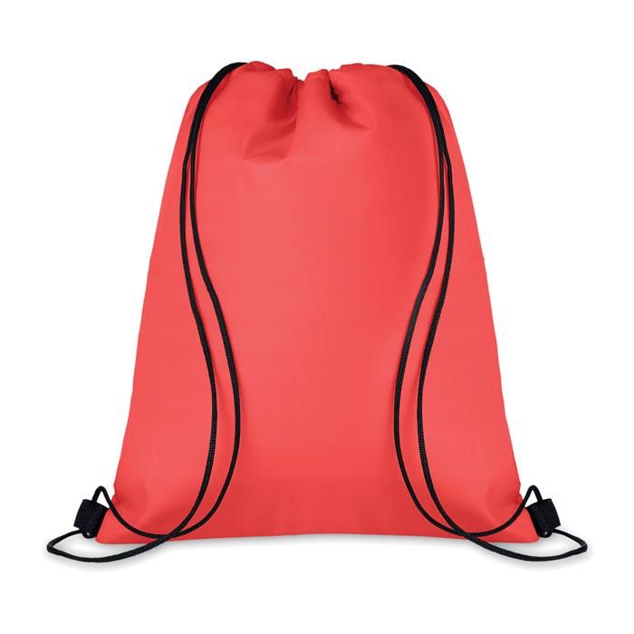 210D Drawstring cooler bag Cooltas - Red