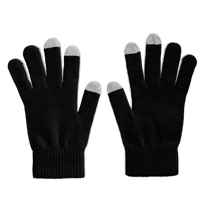 Rękawiczki do smartfona Tacto - czarny