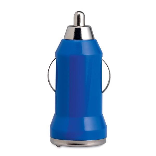 Ładowarka USB do samochodu Mobicar - granatowy