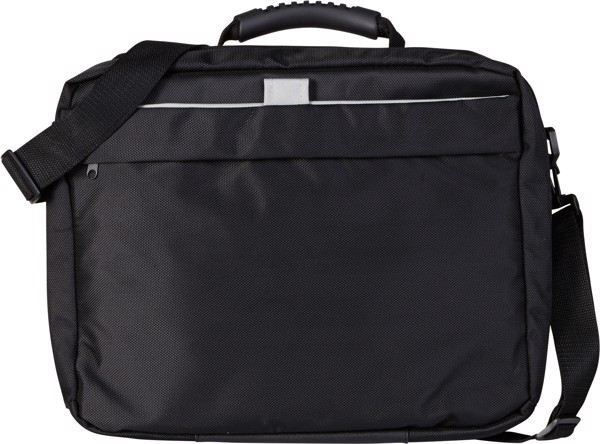 Polyester (1680D) laptop bag - Black