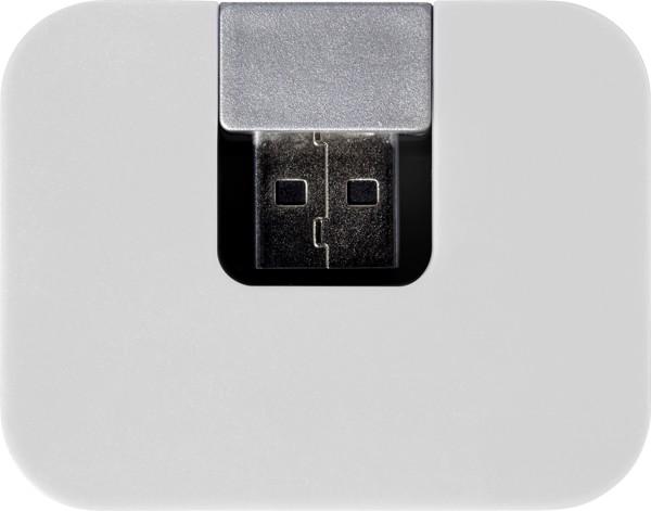 USB-Hub 'Box' aus ABS-Kunststoff - White