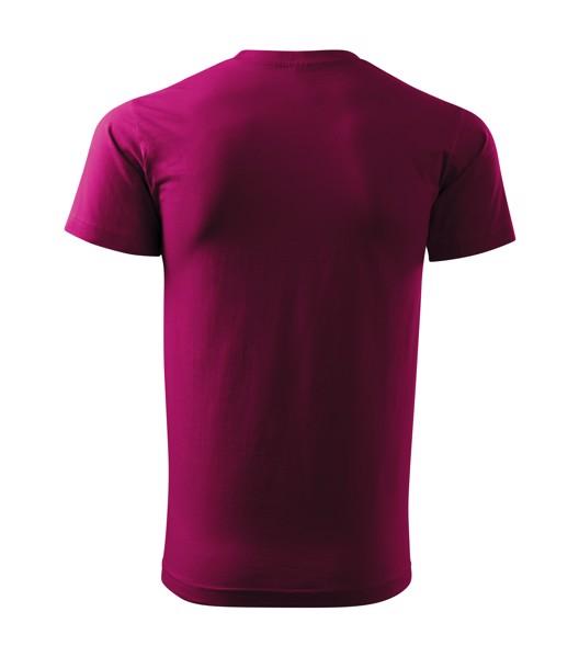 Tričko pánské Malfini Basic - Fuchsia Red / 3XL