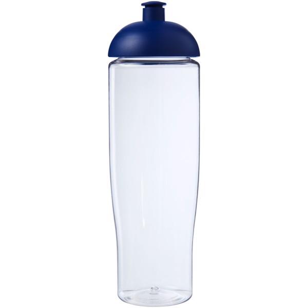 H2O Tempo® Bidón deportivo con Tapa Dome de 700 ml - Transparente / Azul