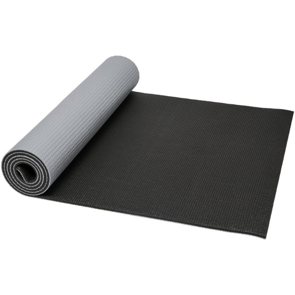 Babaji yoga mat - Grey / Solid black