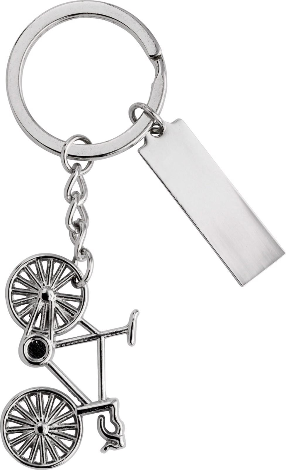 Nickel plated key holder