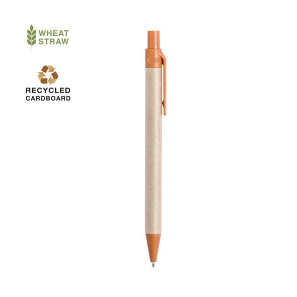 Bolígrafo Desok - Natural