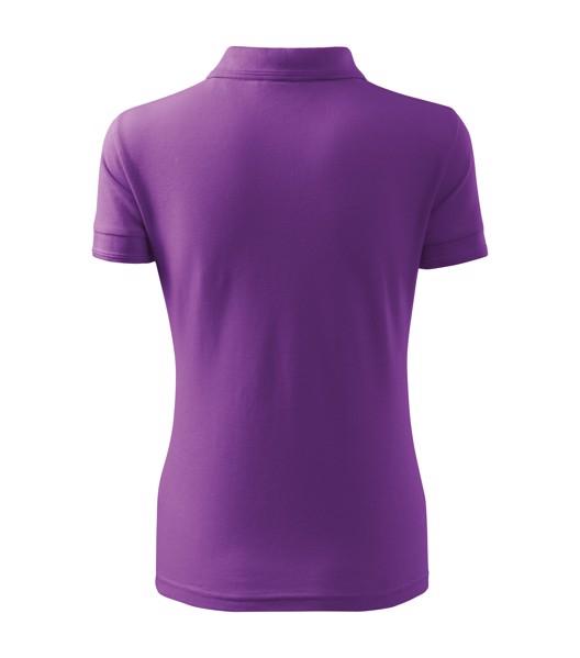 Polo Shirt Ladies Malfini Pique Polo - Purple / S