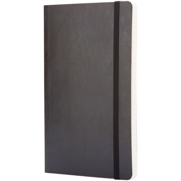 Classic PK soft cover notebook - ruled - Solid Black