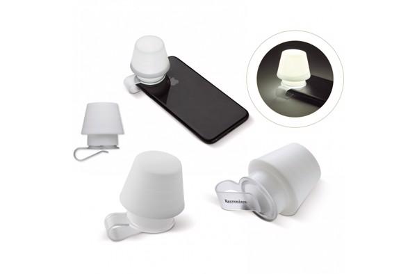 Smartphone lampshade