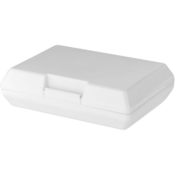 Oblong lunch box - White