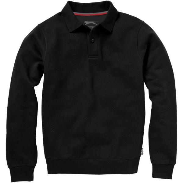 Referee polo sweater - Solid black / L