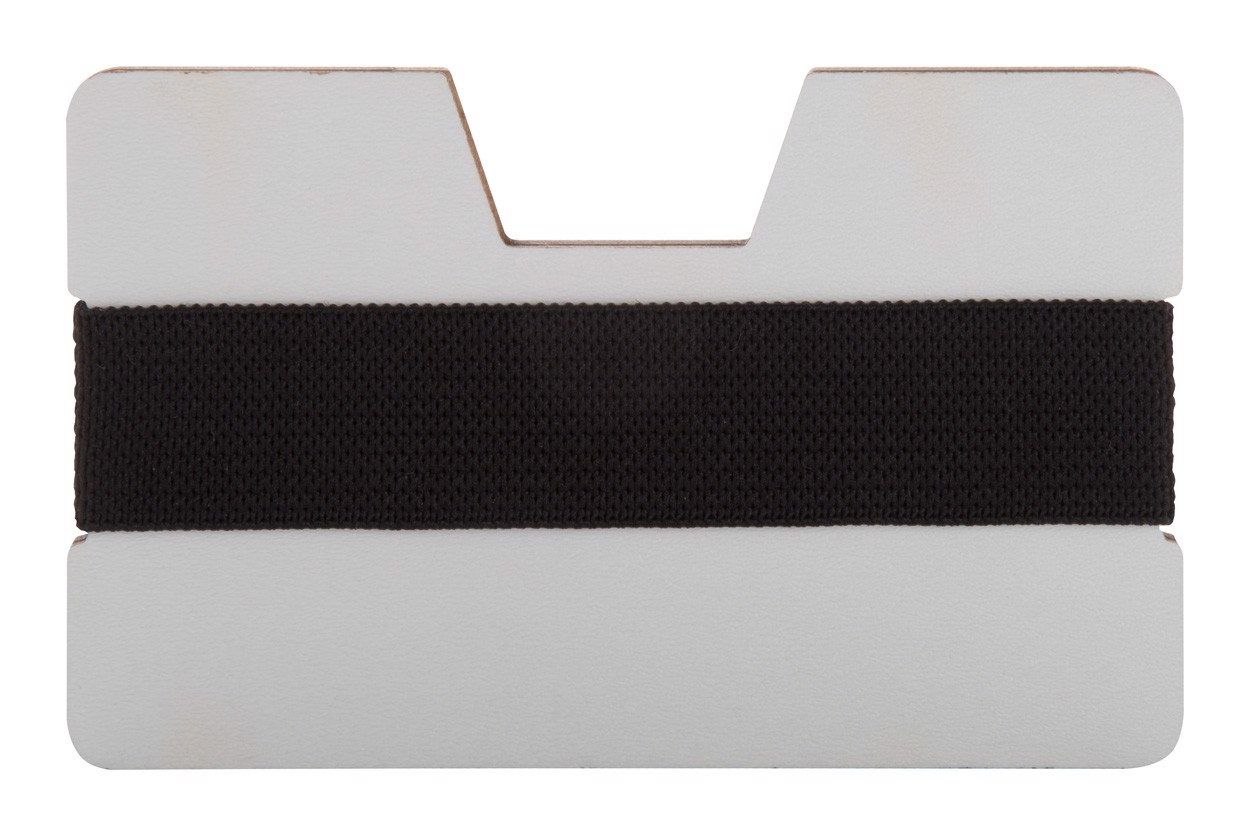 Card Holder Wallet StriCard - White / Black
