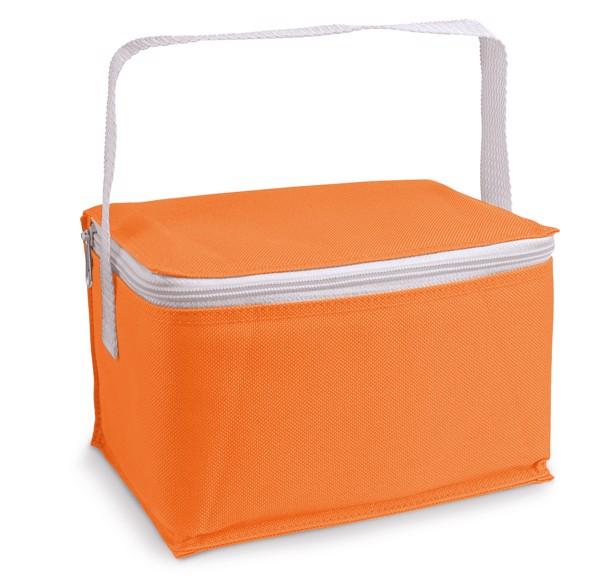 JEDDAH. Cooler bag in 600D - Orange