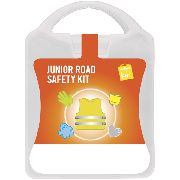 MyKit M Junior Road Safety kit - White