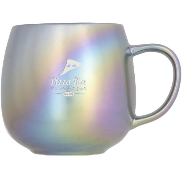 Glitz 420 ml schimmernde Tasse - Grau