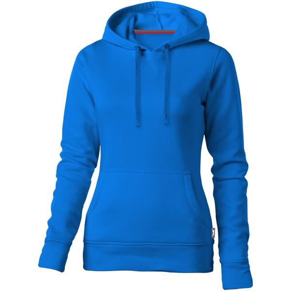 Dámská mikina Alley s kapucí - Nebeská modrá / L