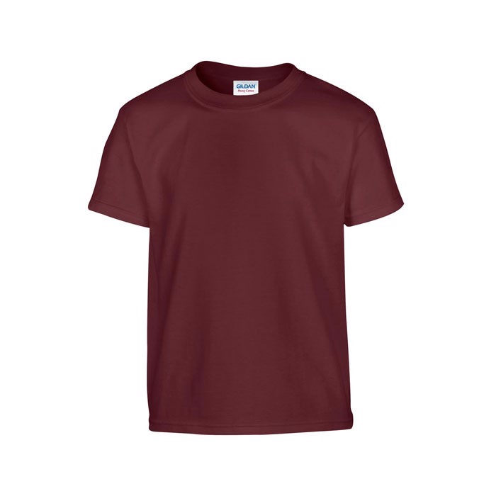 Youth t-shirt 185 g/m² Heavy Youth T-Shirt 5000B - Maroon / M