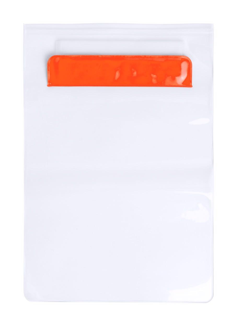 Husă Tabletă Kirot - Portocaliu / Transparent