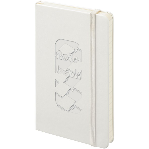 Classic PK hard cover notebook - ruled - White