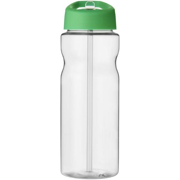 H2O Base® 650 ml spout lid sport bottle - Transparent / Green