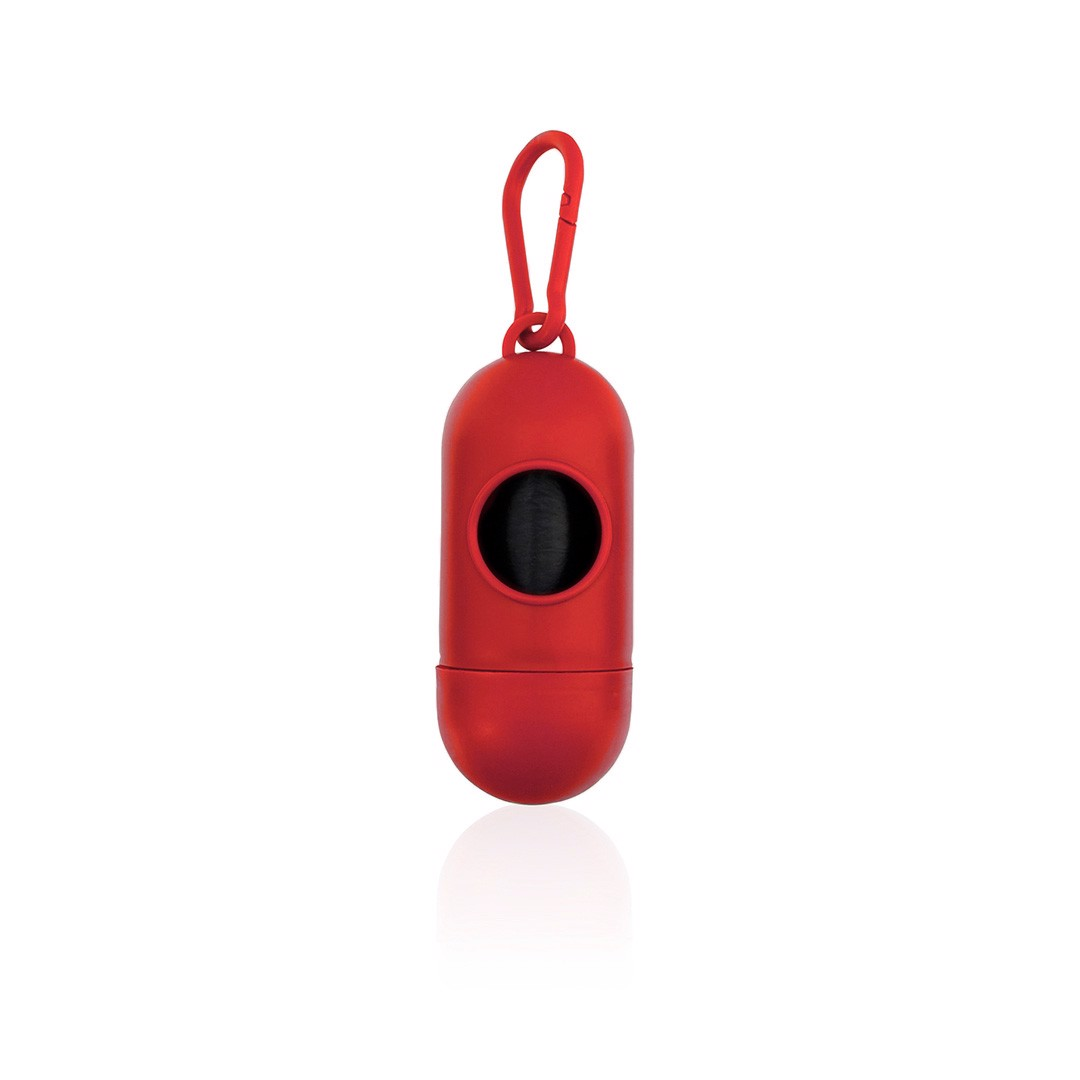 Dispensador Bolsas Yoan - Rojo