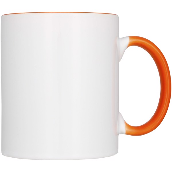 Pix 330 ml ceramic sublimation colour pop mug - Orange