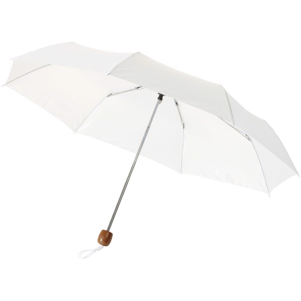 "Lino 21.5"" foldable umbrella - White"
