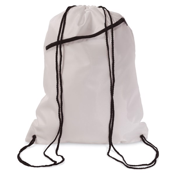 Large drawstring bag Bigshoop - White
