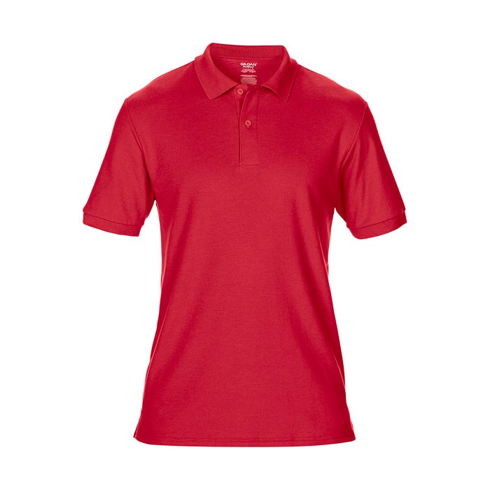 Men's Polo Shirt 207/220 g Dryblend Double Pique 75800 - Red / 5XL