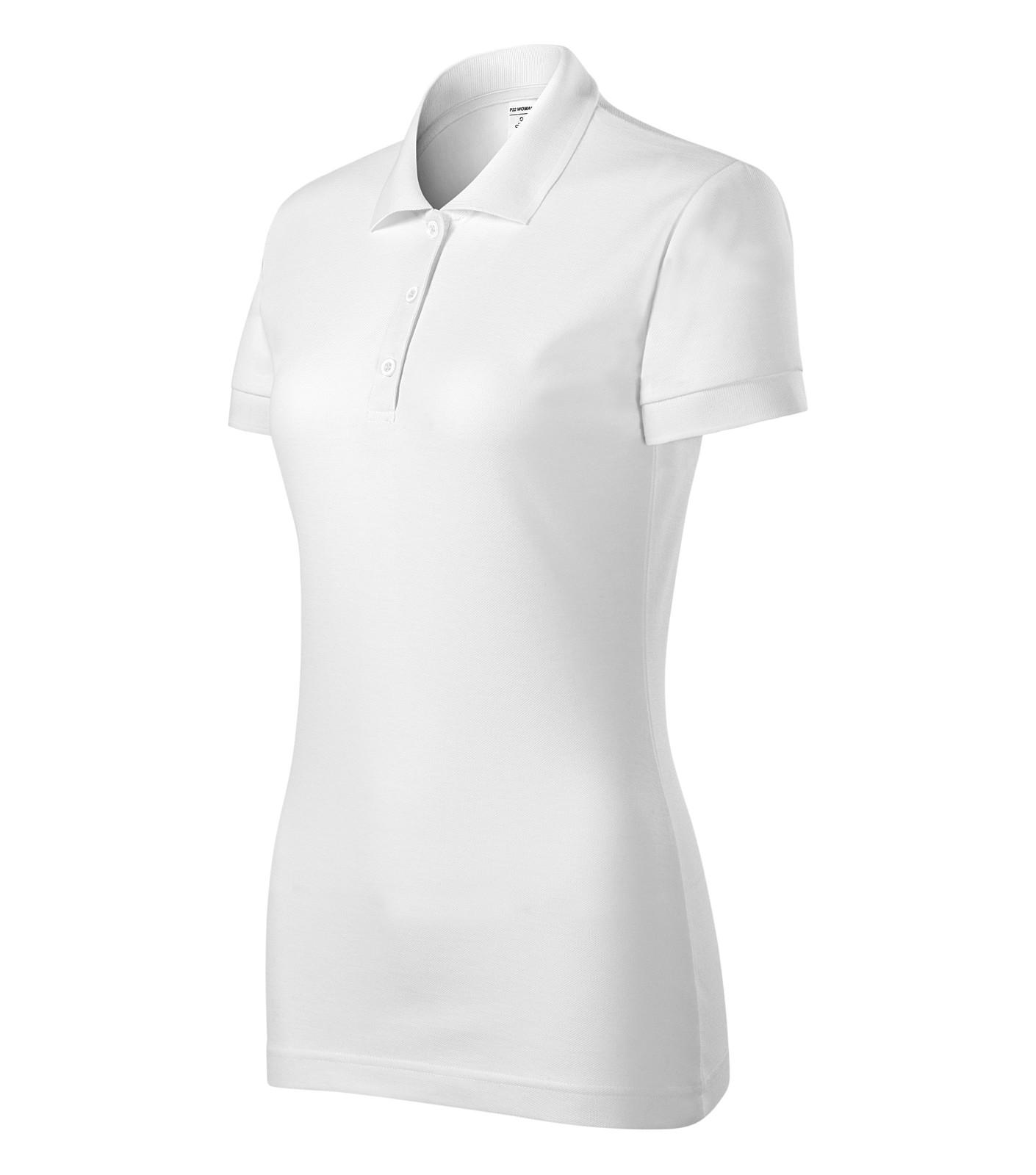 Polo Shirt women's Piccolio Joy - White / 3XL